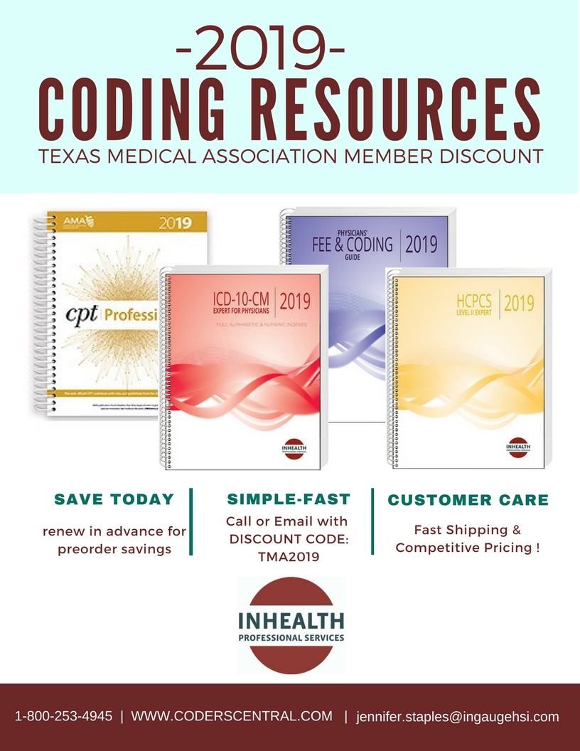2019 INHEALTH Coding Resources
